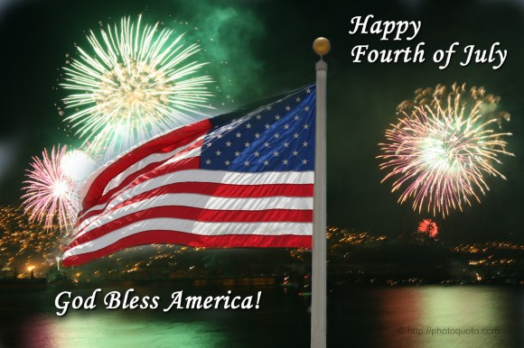 Happy 4th of July! God Bless America.