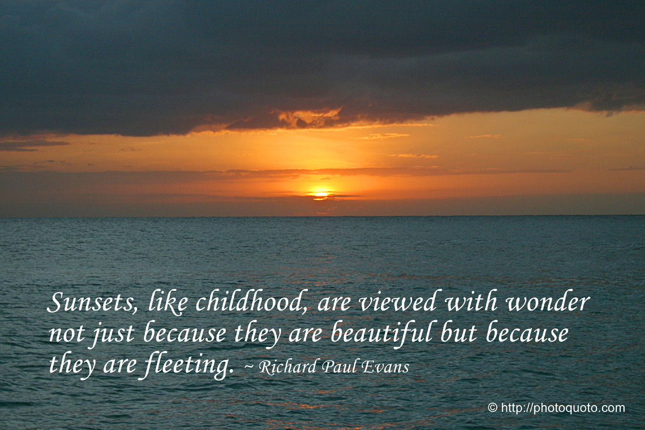 Ocean Sunset Quotes. QuotesGram