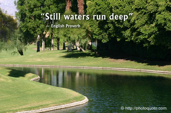 still waters run deep essays on success